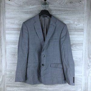 Calvin Klein Light Grey 2 Button Suit Jacket